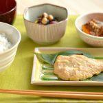 バランスの良い食事(魚、ひじき、かぼちゃ煮物)