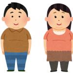 メタボの男性と女性